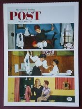 POSTCARD ADVERT SATURDAY EVENING POST F/PAGE  DATED  3 MAY 1952  - THE JOY OF PA
