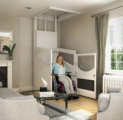 1 Etage Rollstuhllift HebebÜhne Plattformlift Aufzug Hauslift Senkrecht Lift Elegant Im Geruch Hilfsmittel Beauty & Gesundheit