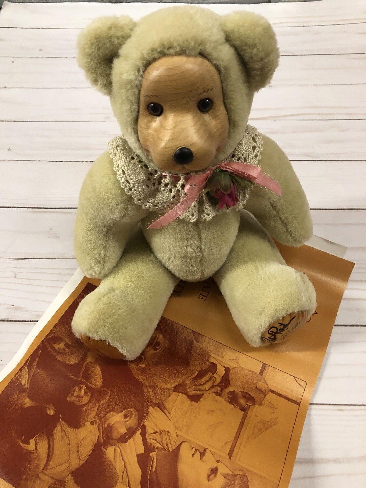 "Robert Raikes Bear ""Rosie"" limited edition 281/1500"