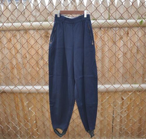 Vintage 30s 40s Slalom ski pants navy gabardine st