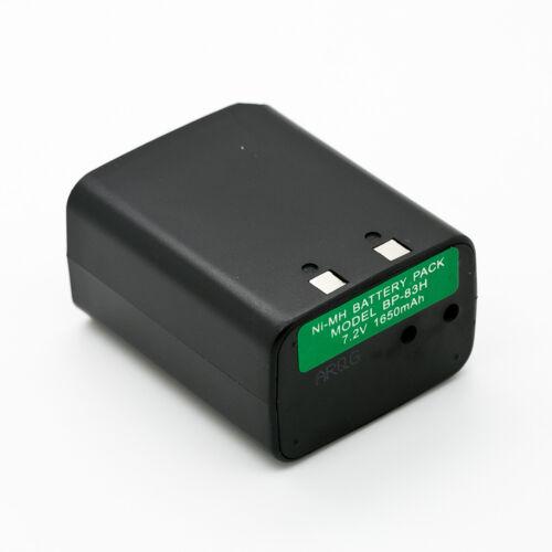 BP-83 BP-84 Battery for ICOM IC-2SAT IC-3SAT IC-2SRA IC-4SRA IC-W2A IC-M7