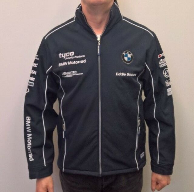 Official 2017 Tyco BMW Motorrad TAS Racing BSB Soft Shell Jacket