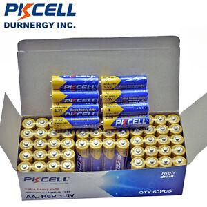 100x-AA-Doulble-A-R6P-Batteries-1-5V-Heavy-Duty-Carbon-zinc-Bulk-Lot-PKCELL