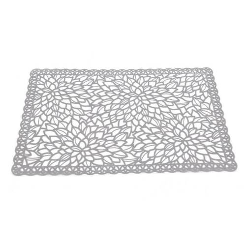 Rectangle Placemat PVC Hollow Coasters Pads Insulation Table Non-slip Mat
