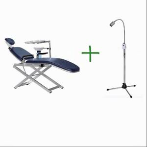 TPC-Portable-Dental-Chair-Package-with-Portable-Dental-LED-Light-PC2720-2760
