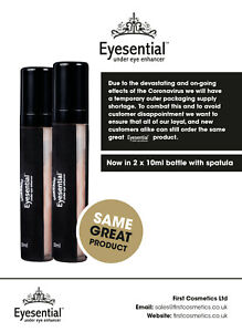 Eyesential-NOW-AVAILABLE-2-x-10ml-Bottles-Removes-Wrinkles-Lines-amp-Bags