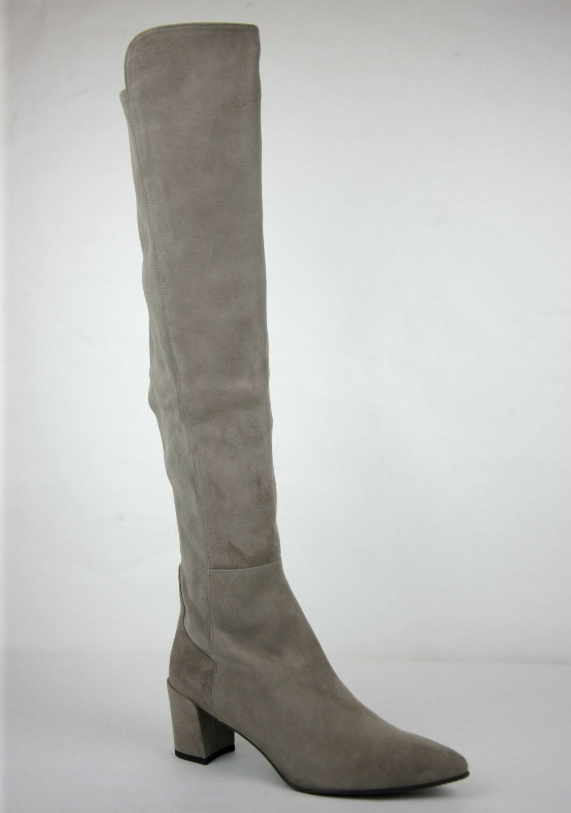 765 New Stuart Stuart Stuart Weitzman Taupe Suede Allwayhunk Over-The-Knee Boot 3b4ad0