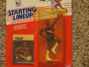 Trailblazers Débutant 1988 Johnson Au Basketball Steve Portland AUYUv