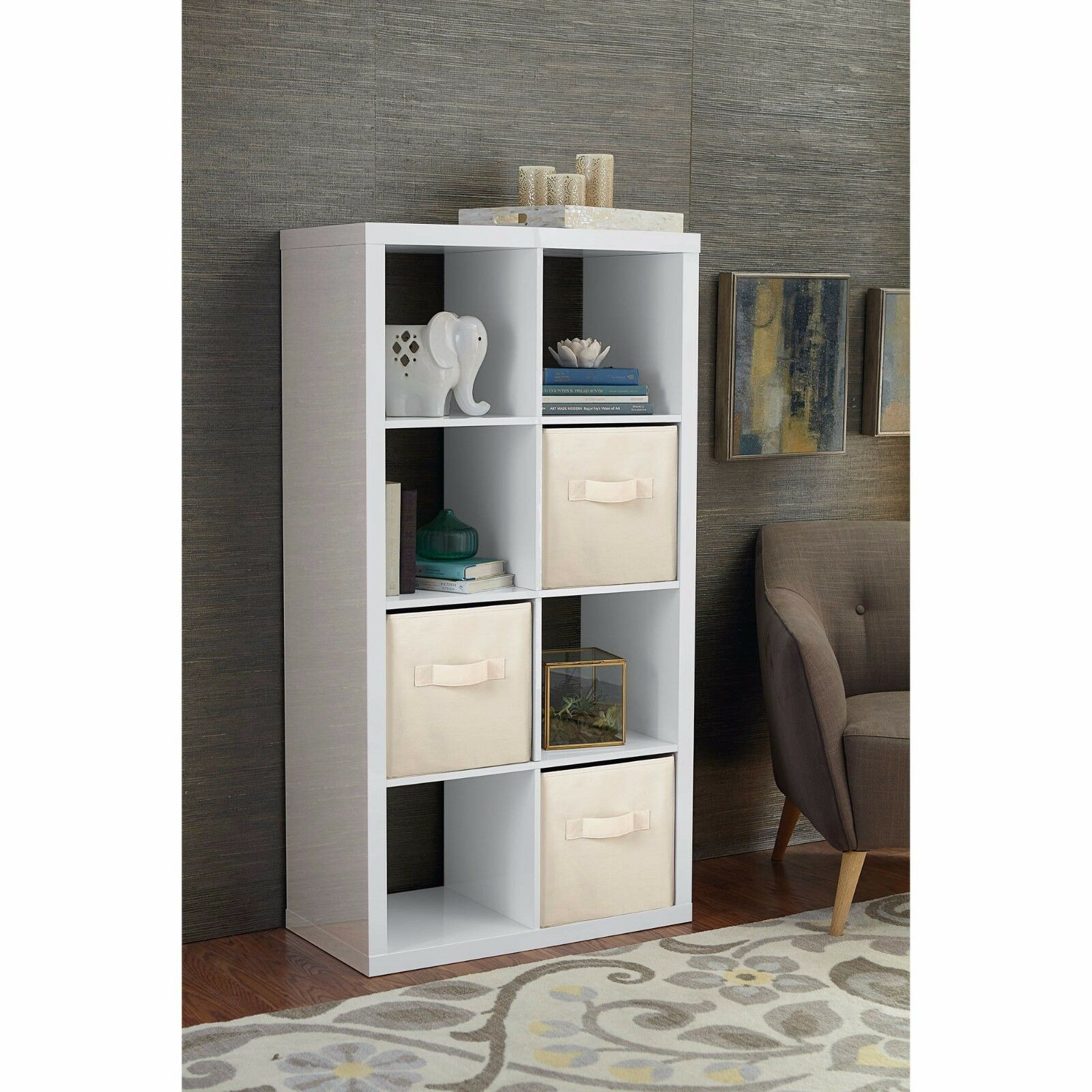 Better Homes And Gardens 8 Cube Organizer Storage Bookcase