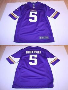 finest selection 0ebae 7e158 Details about Men's Minnesota Vikings Teddy Bridgewater M Jersey (Purple)  Nike On-Field