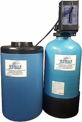 12,800gr Mobile-Soft-Water-Portable Manual Softener w//salt port RV-Boat/&Cabin