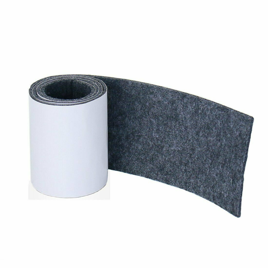 Self-Stick Heavy Duty Felt Strip Roll for Hard Surfaces hgf 1//2 inch x 60 inch
