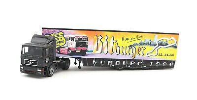 albedo man sattelzug truck grand prix n rburgring 1996 1 87 h0 ebay. Black Bedroom Furniture Sets. Home Design Ideas
