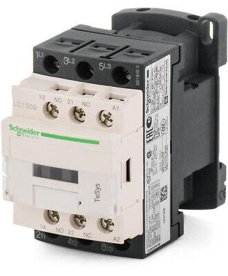Schneider 3Pole contactor LC1D12P7 12amp 230Vac coil