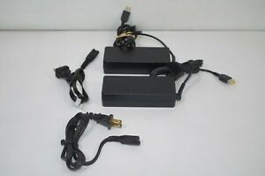 Lot-of-2-Lenovo-AC-Adapter-20V-4-5A-Thinkpad-E450-Power-Cords
