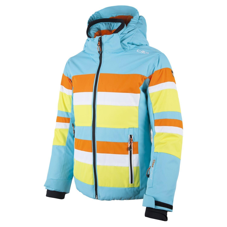 CMP Chaqueta Esquí Invierno de Azul Claro Transpirable Resistente Al Viento