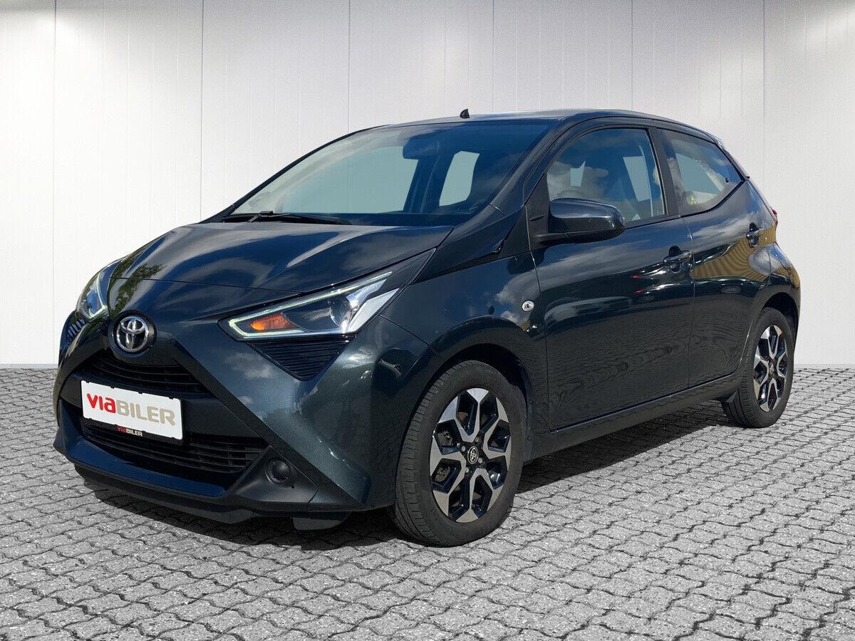 Toyota Aygo 1,0 VVT-i x-plore 5d - 87.800 kr.