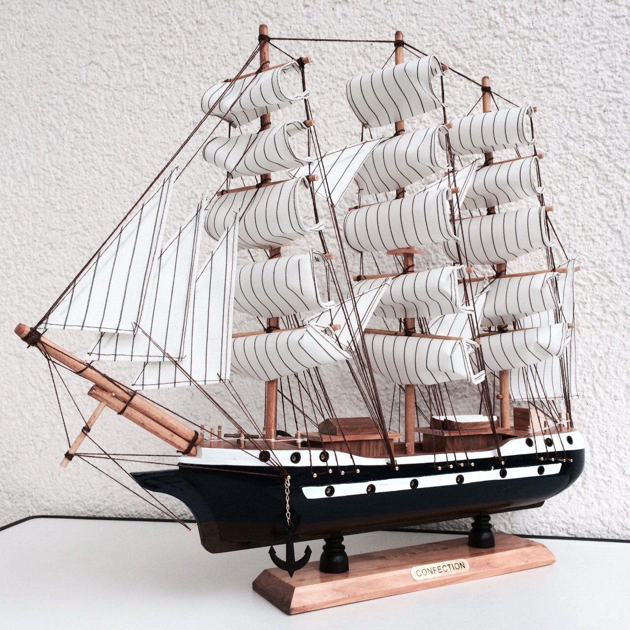 Cc Modello Miniatura Decorativa Barca Galeone Dei Pirati Confection 60cm moc