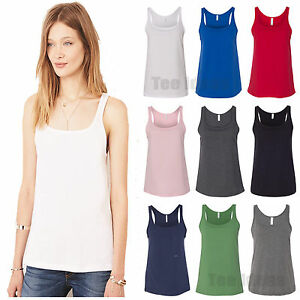 3c4912a7df8ec0 Image is loading Bella-Canvas-Womens-Relaxed-Jersey-Tank-Top-T-