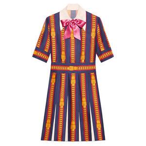 Runway Inspired Designer Dress Embroidery Summer Women 67wdHq64
