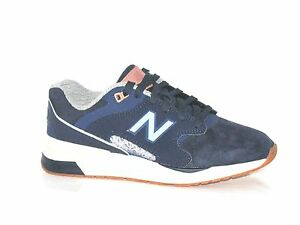 Da Uomo New Balance ml1550sc Navy Blue Suede Scarpe Da Ginnastica Rrp 95