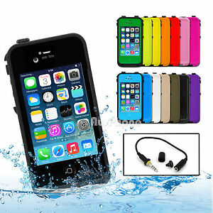 Waterproof-Heavy-Duty-Dirt-Snow-Proof-Hard-Case-Cover-for-Apple-iPhone-4S-4-4G