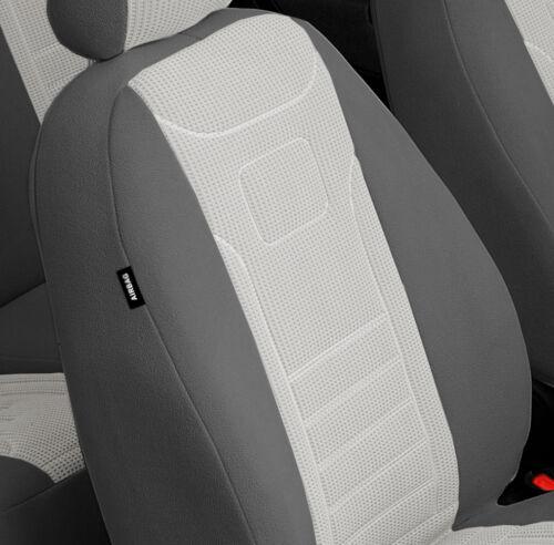 VGP1 GRAU Audi A6 C4 C5 C6 Maßgefertigte Velours Sitzbezüge