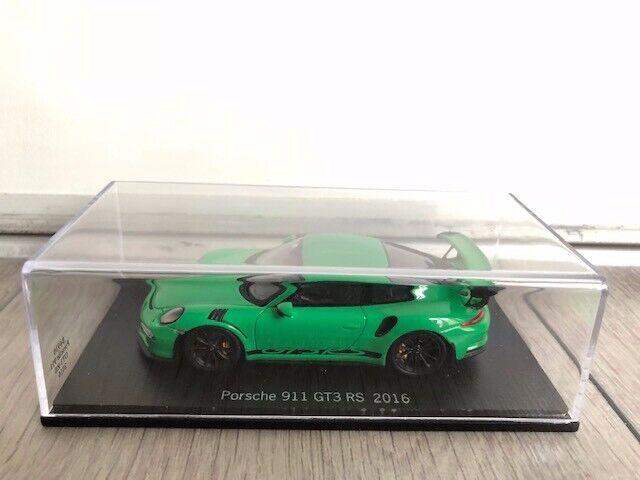 Porsche 911 (991) GT3 RS Viper vert 1 43 Spark