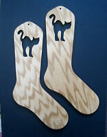 Olivia The Cat Oak Sock Blockers By Purrfectly Catchy Designs