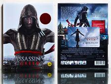 Assassin's Creed (2016) [Blu-ray] 2D+3D, (STEELBOOK), Limited 450, FULL SLIP~
