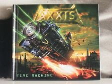 AXXIS - TIME MACHINE - ENHANCED CD NEAR MINT DIGIBOOK COVER