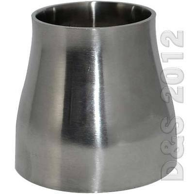 "3/4"" 1"" 1.25"" 1.5"" 1.75"" 2"" 2.5"" 3"" 4"" Sanitary Weld Reducer SS316 19MM-102MM"