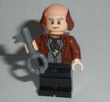 HISTORICAL Lego Benjamin Franklin  NEW Custom Genuine Lego Parts Inventor