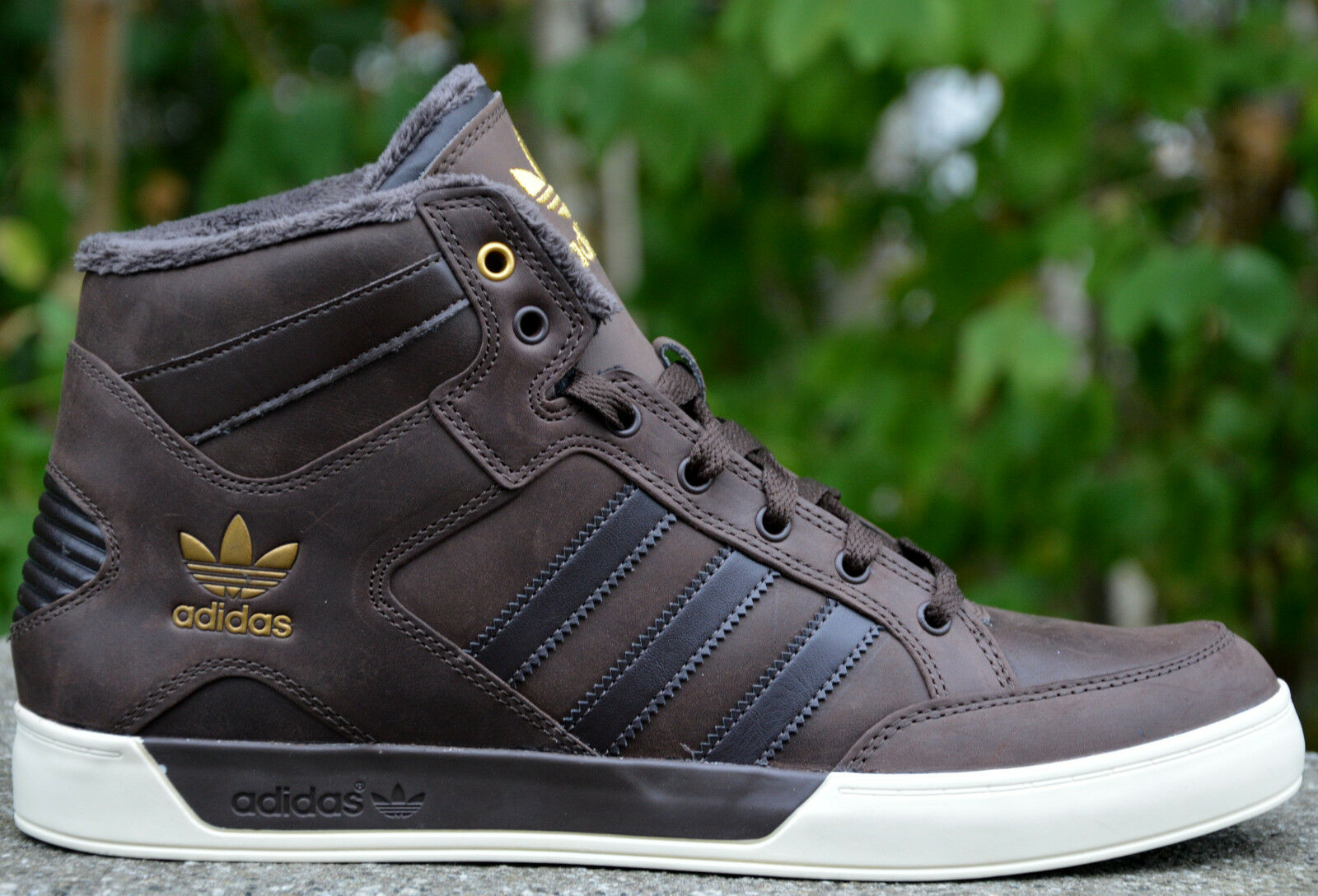 Adidas Hardcourt Hi Herrenschuhe Turnschuhe High Top  Herbst Sneaker Big Logo