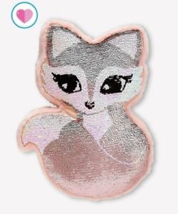 Astonishing Details About Justice Girls Flip Sequin Pink Fox Pillow Room Decor Sparkly Throw Pillow New Download Free Architecture Designs Rallybritishbridgeorg