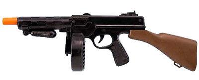 Tommy Gun Toy Plastic 20 Inch Gangster Gun Toy Machine Gun 18183