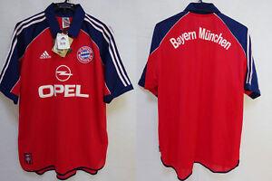 quality design ab2c5 66210 Details about 1999-2001 Bayern München Munchen Munich Jersey Shirt Trikot  Home OPEL XL BNWT
