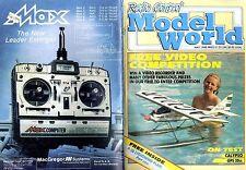 RADIO CONTROL MODEL WORLD MAGAZINE 1988 MAY P-38 LIGHTING PLAN PRT 1, CALYPSO