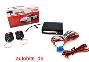 Mando a distancia inalámbrico cierre centralizado ZV para retroadaptar para VW ford Mitsubishi