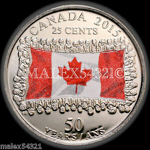 2015-CANADA-FLAG-25-CENTS-UNCIRCULATED