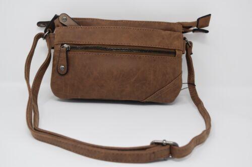 Damen Umhängetasche Tasche mit Reißverluss vorne JJ080915