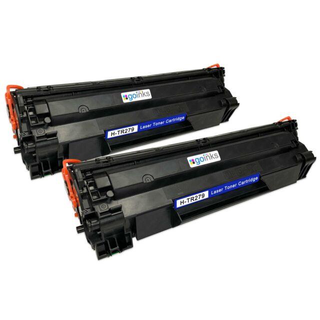 2 Negro Cartuchos de tóner láser para HP LaserJet Pro MFP M26a, MFP M26nw