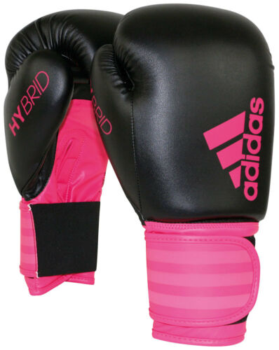 Adidas Hybrid Boxing Gloves Pink (Available in 6oz or 10oz)
