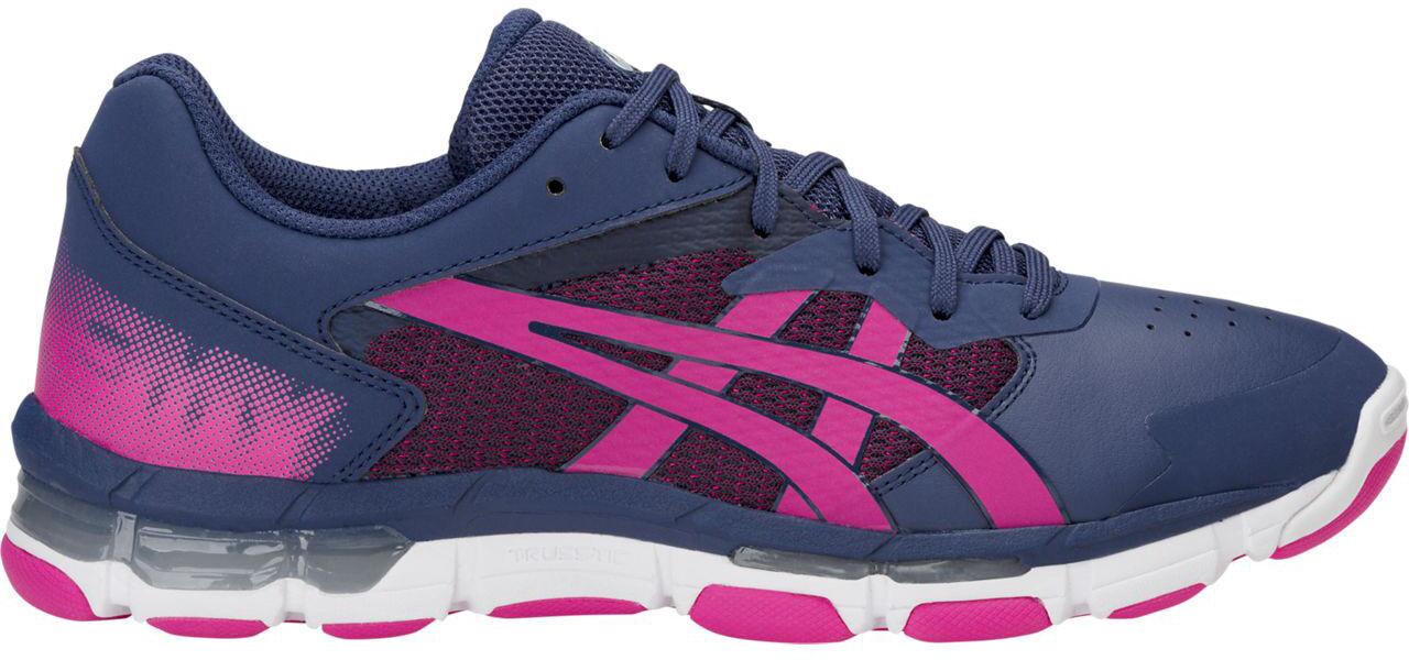 Asics Netburner Acadamy 8 Womens Netball shoes - bluee