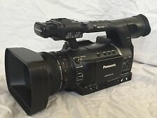 Panasonic AG-AC160 AVCCAM HD Handheld Camcorder EXTRA BATTERYS EXTRA CHARGER