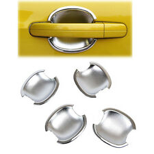 FIT FOR 2012-2017 FORD FOCUS 3 MK3 CHROME DOOR HANDLE CAVITY BOWL CUP COVER TRIM