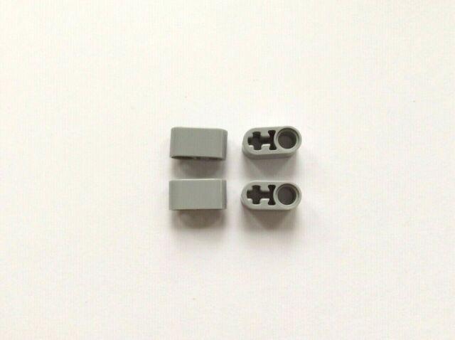 Liftarm 1 x 2 Thick with Pin Hole LEGO 60483 Technic Light Bluish Grey