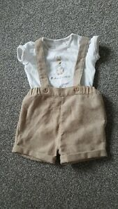 Initiative Piter Rabbit Baby Summer Outfit 1-3 Months Clothes, Shoes & Accessories Baby