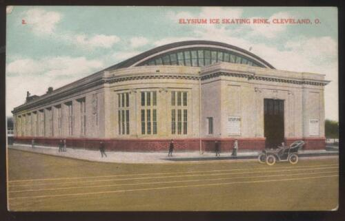 Postcard CLEVELAND,OhioOH Elysium Ice Skating Rink view 1907?