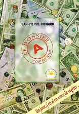 Livre: Jean-Pierre Richard: le dossier A confidentiel. labussiere. D